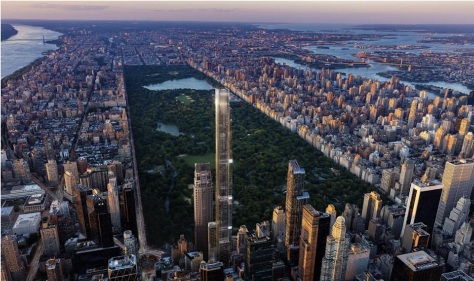 Views from the tallest residential building in the world