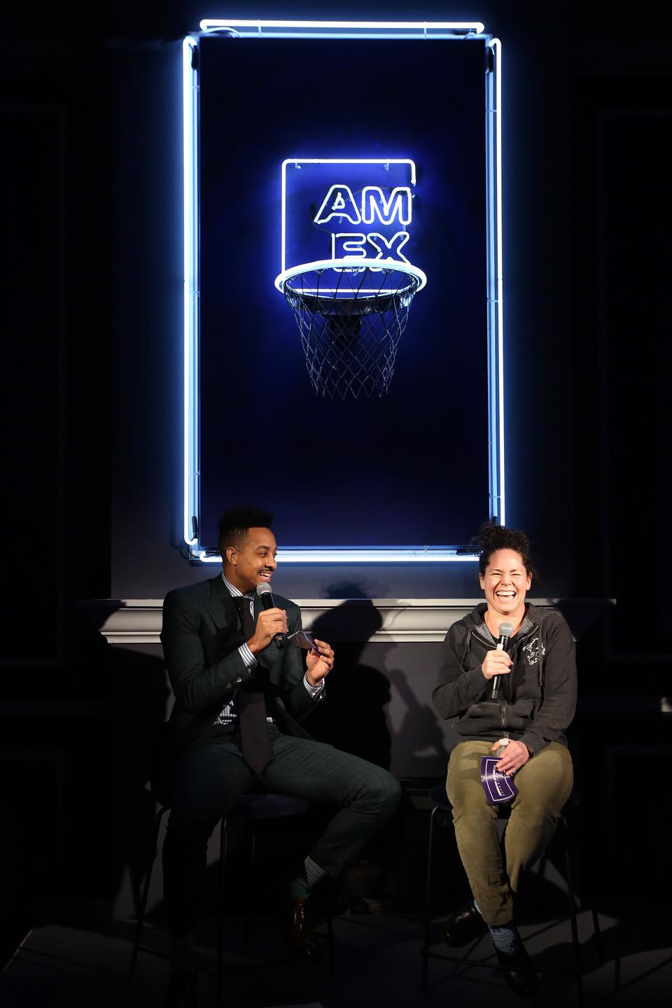 AmEx Experience NBA All Star