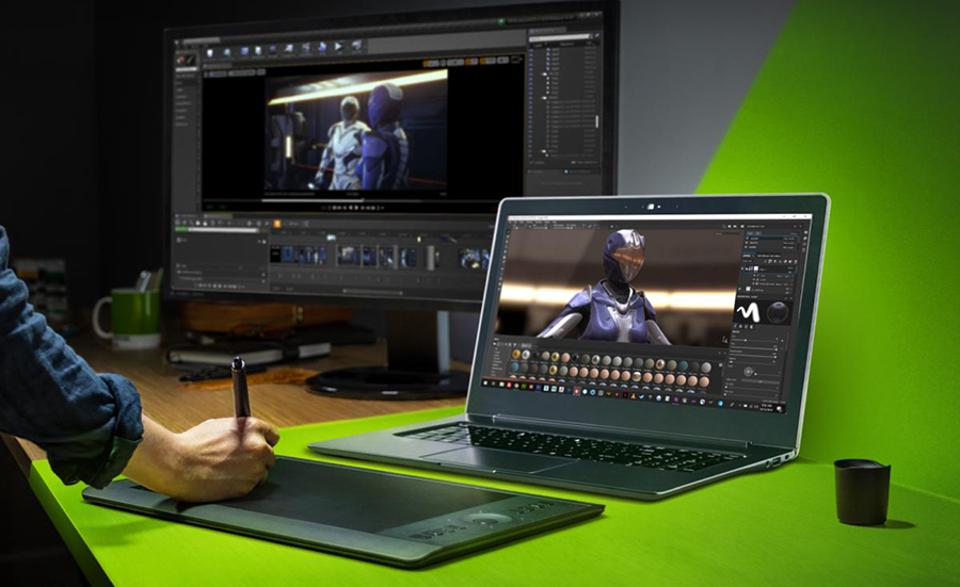 NVIDIA RTX Studio Laptop
