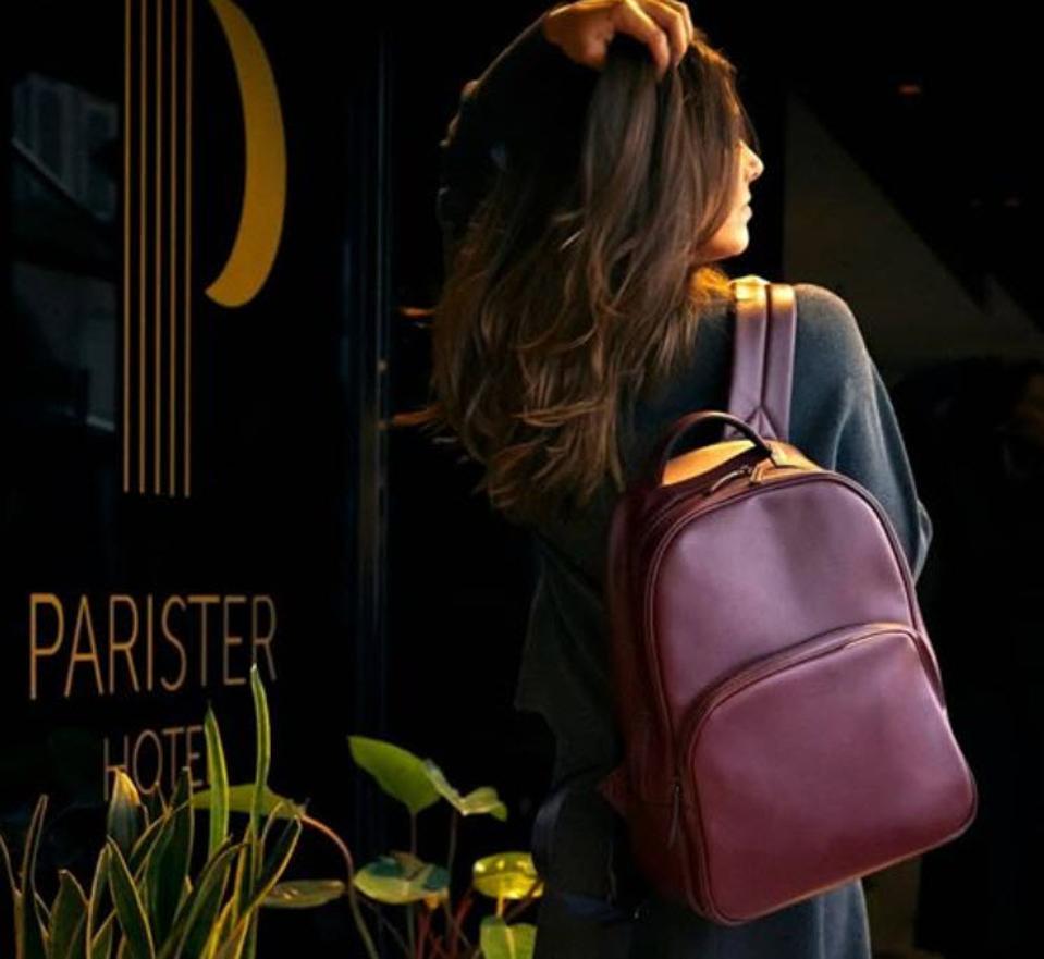 Ashoka vegan backpack