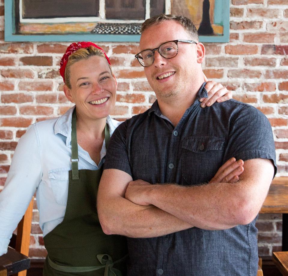 Kristen Essig and Michael Stoltzfus