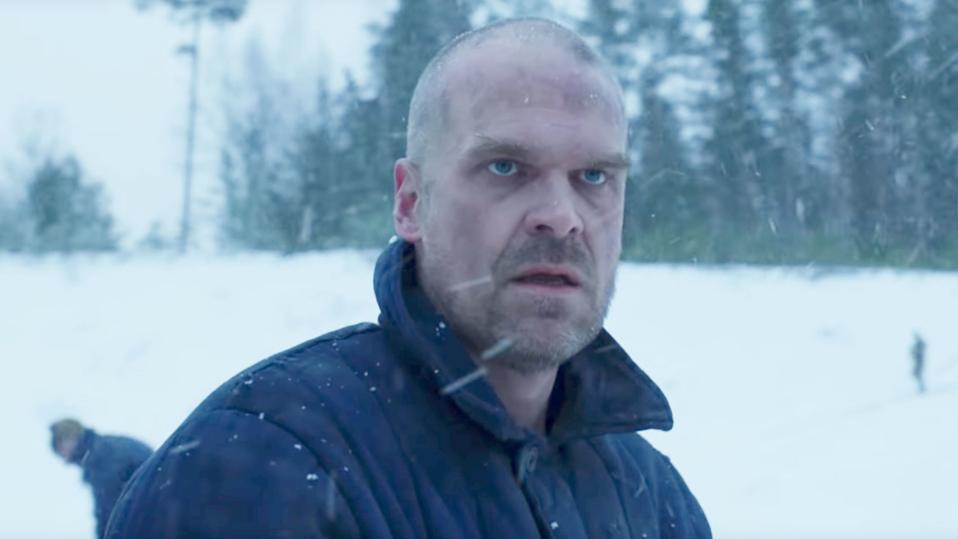 Hopper Stranger Things 4 Russia Teaser