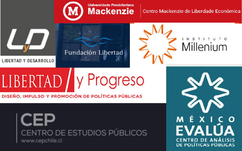 Relevant Free-Market Think Tanks in Argentina, Brazil, Chile and Mexico