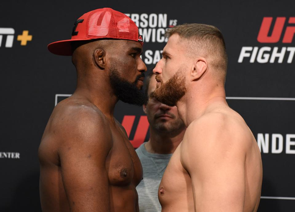 UFC Fight Night Anderson v Blachowicz 2: Weigh-Ins