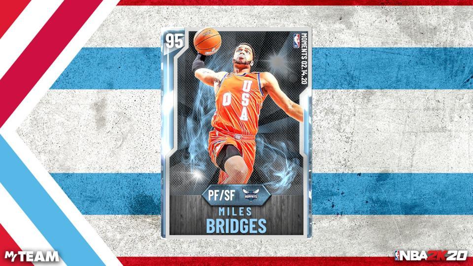 NBA 2K20 Miles Bridges Rising Stars MVP