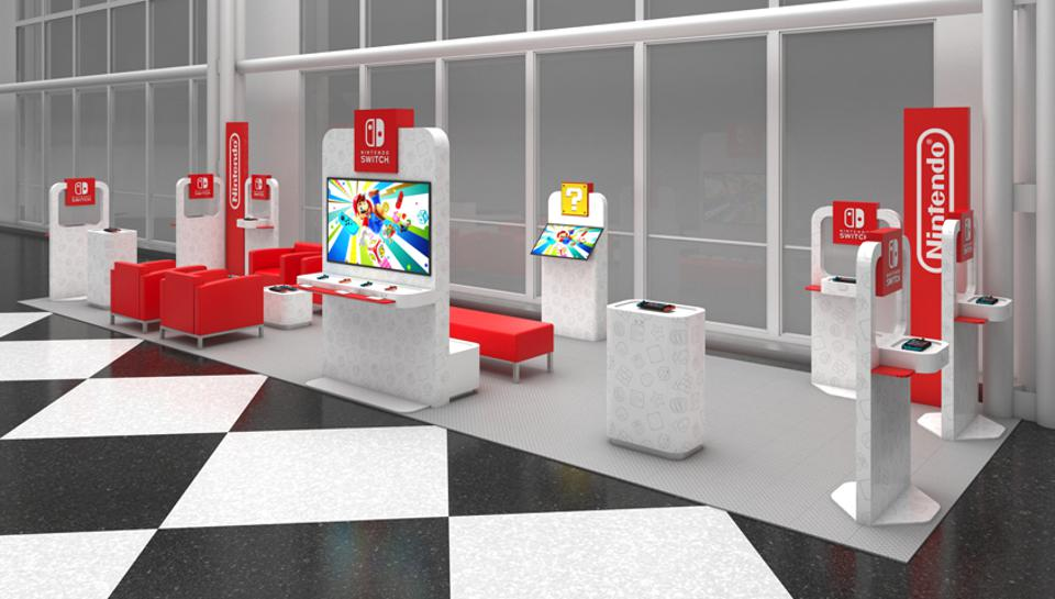 Nintendo To Open Airport Video Game Lounges