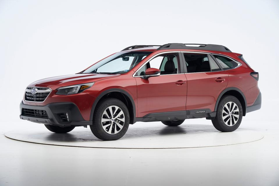 The 2020 Subaru Outback was one of the top winners this year for safety,