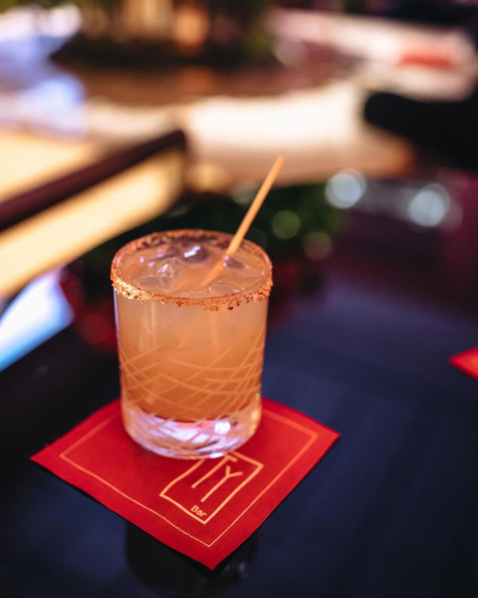 Jalarita at Ty Bar at Four Seasons Hotel New York.