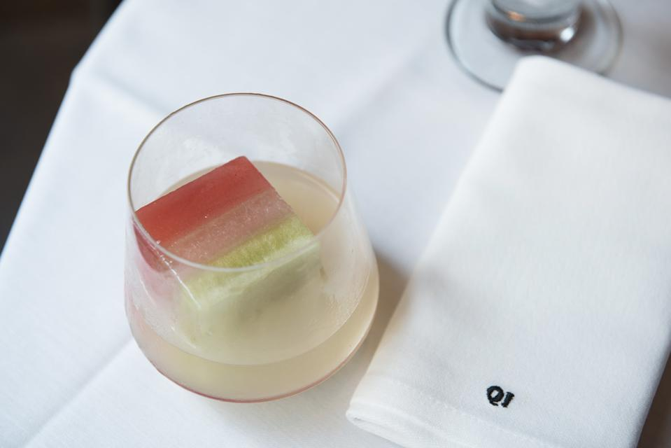 The Tricolore Margarita from Quality Italian in New York City.