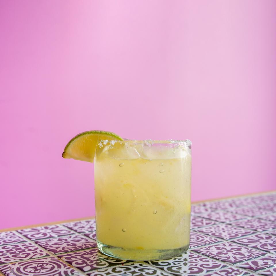 Pineapple Tepache Margarita at Sophomore Spanish Club in Jackson, Mississippi.