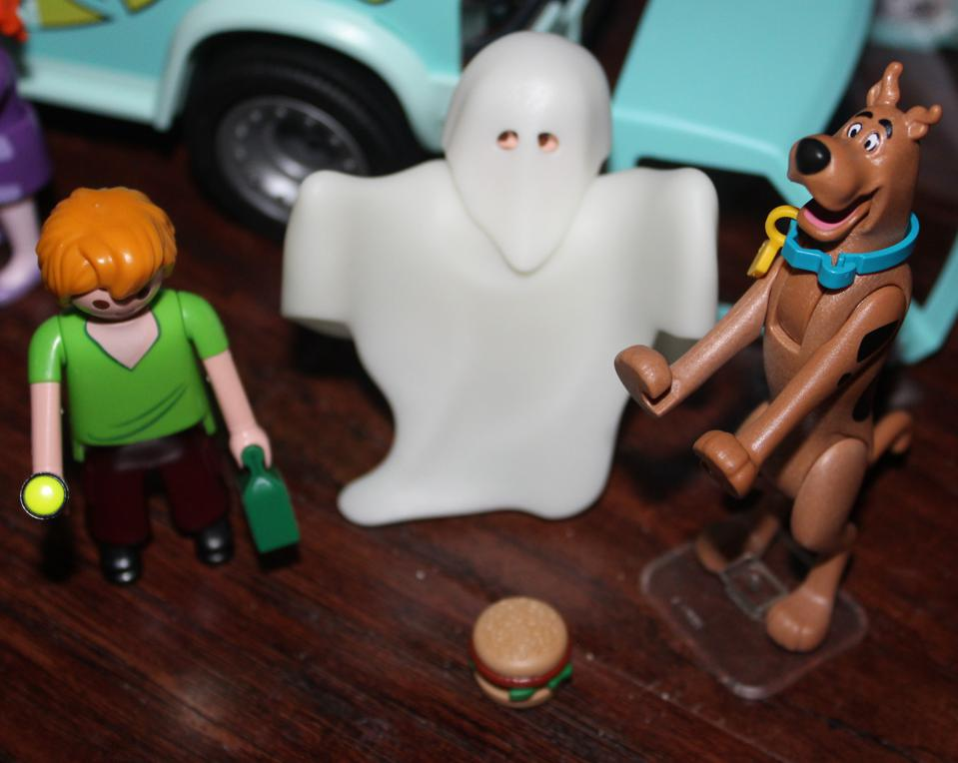 scooby-doo shaggy ghost