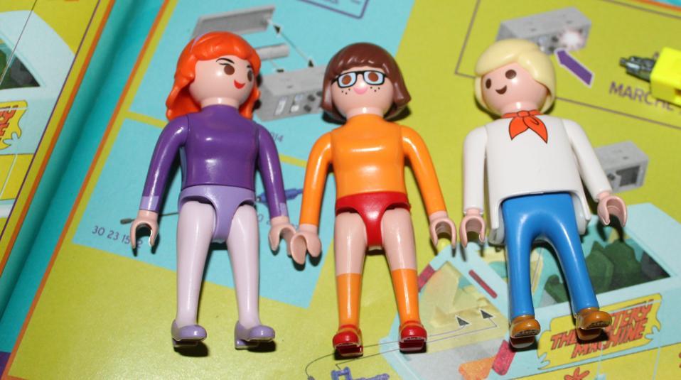 Scooby-doo Daphne Velma Fred Playmobil underwear