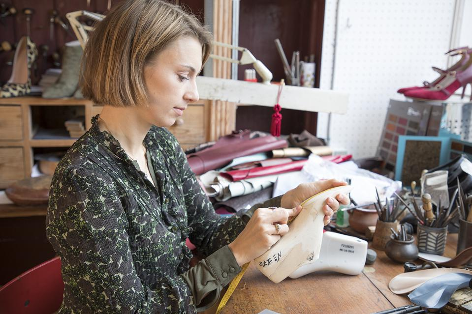 Tuscany, Italy Frederikke Schmidt at work