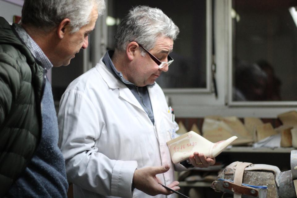 Made in Italy: checking the lasts