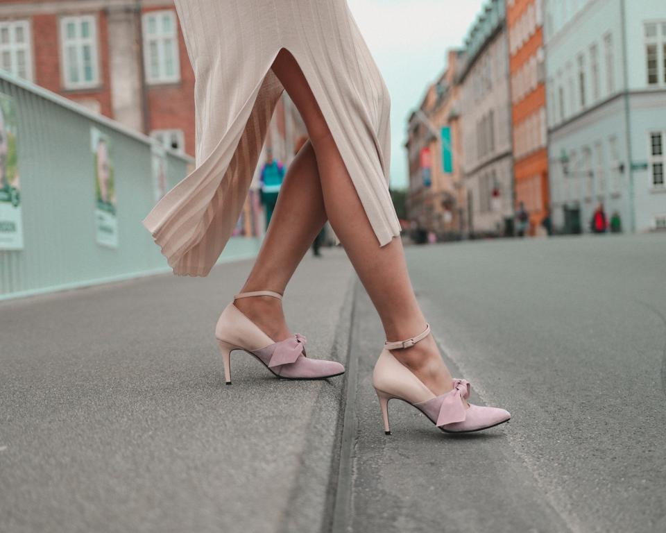 Stepping out: Bea retails for DKK 2.200 a pair