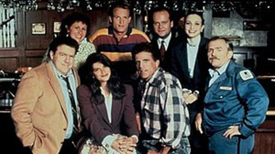 Cheers cast in 1991