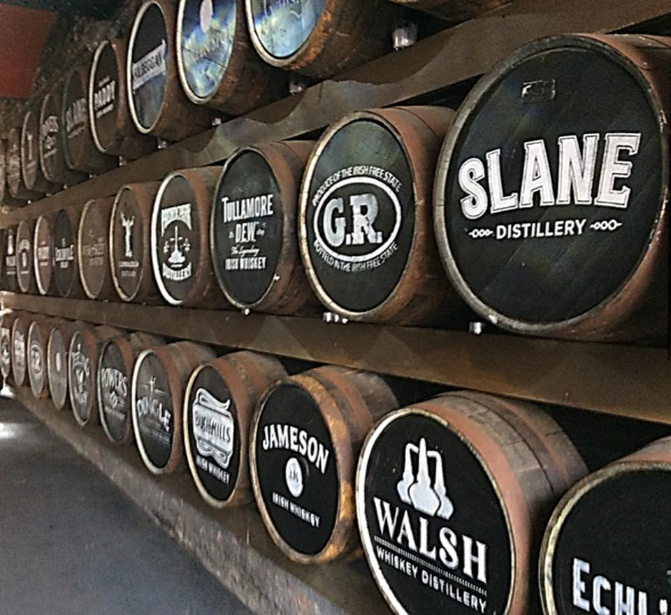 Irish Whiskey Barrels