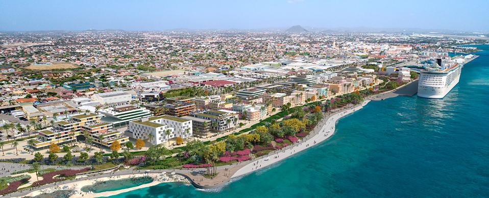 Port City Oranjestad development