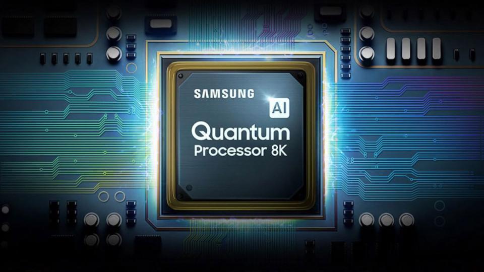 Samsung's 8K AI processor.