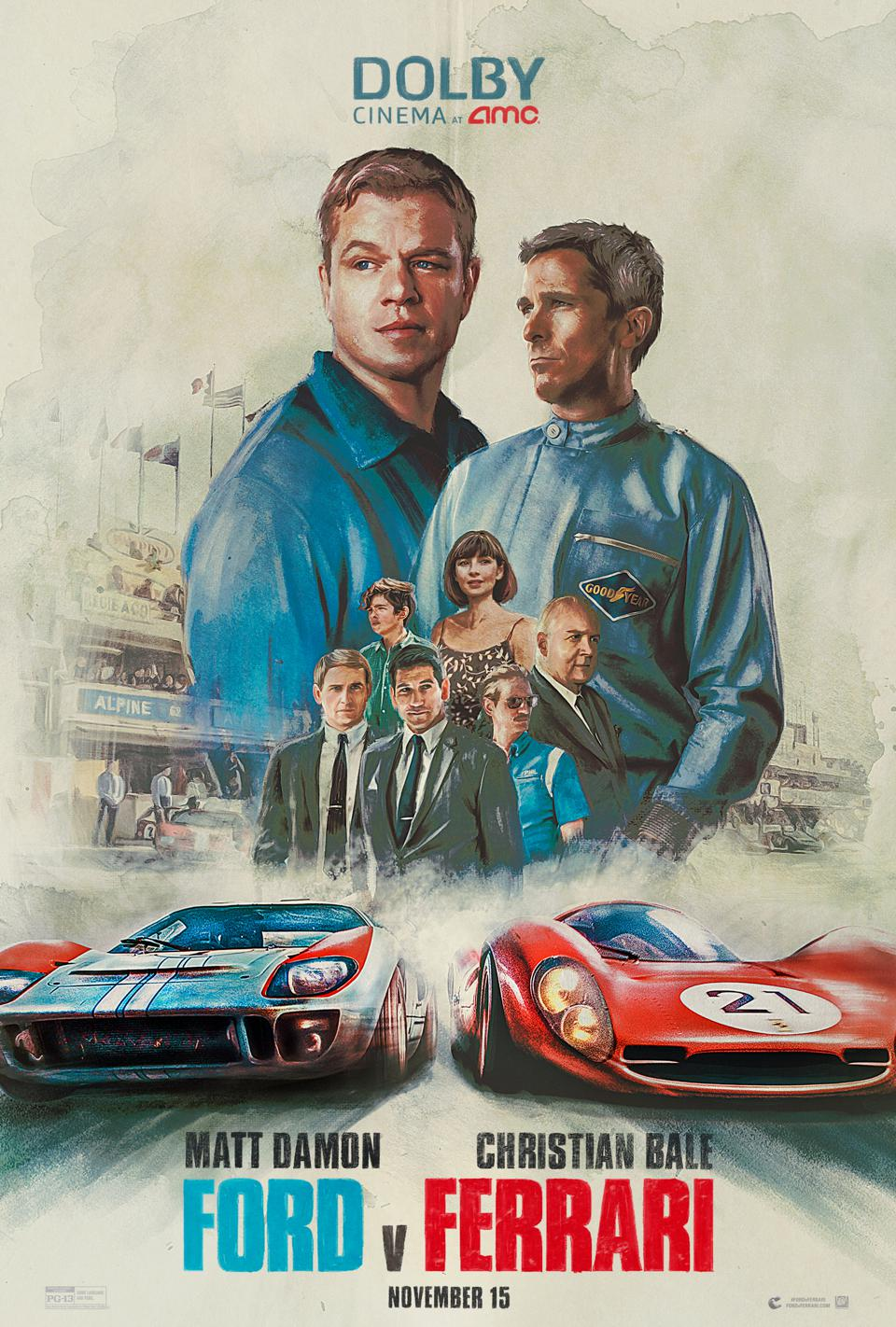 Ford vs Ferrari/Lemans '66 poster