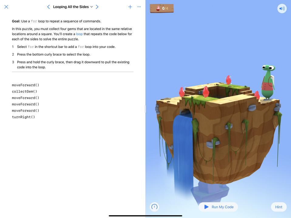 swift playgrounds on iPad