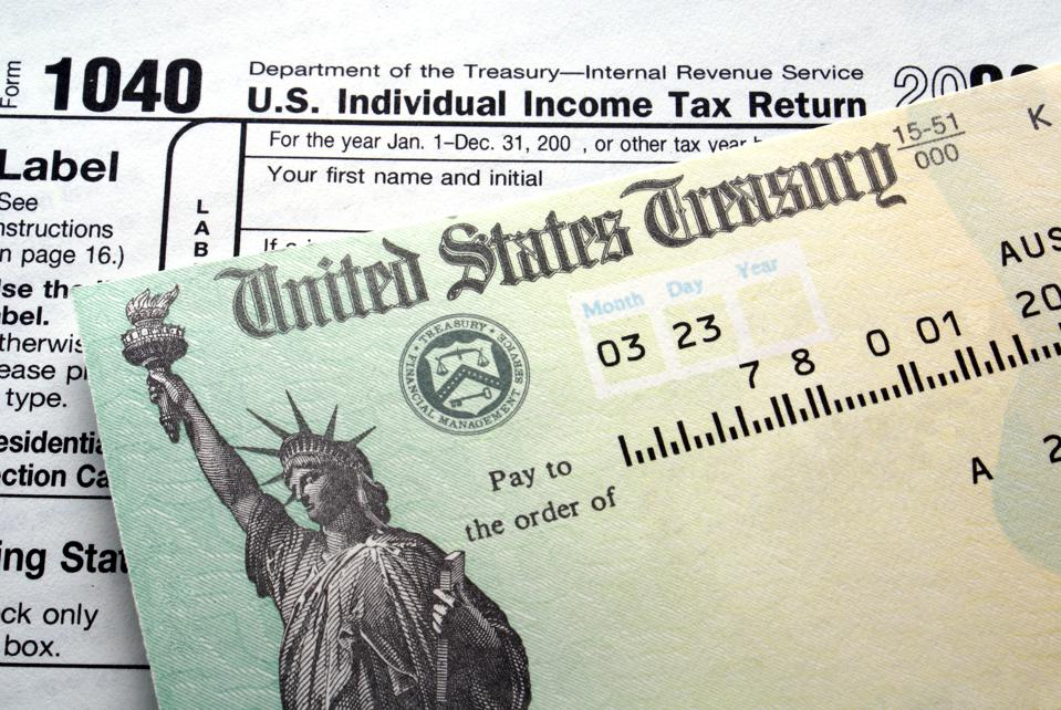 You Shouldn't Be Too Happy About Getting A Big Tax Refund