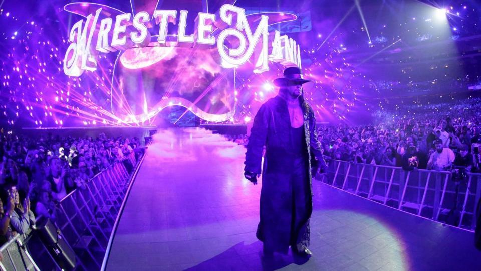 WWE WrestleMania: The Undertaker entrance