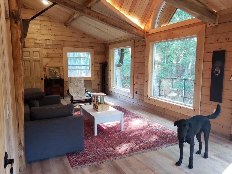 Interior Lodge at Fortitude Ranch