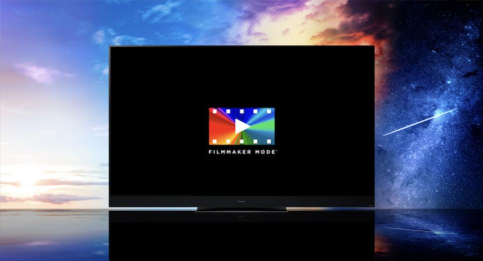 Filmmaker mode on a 2020 Panasonic TV.