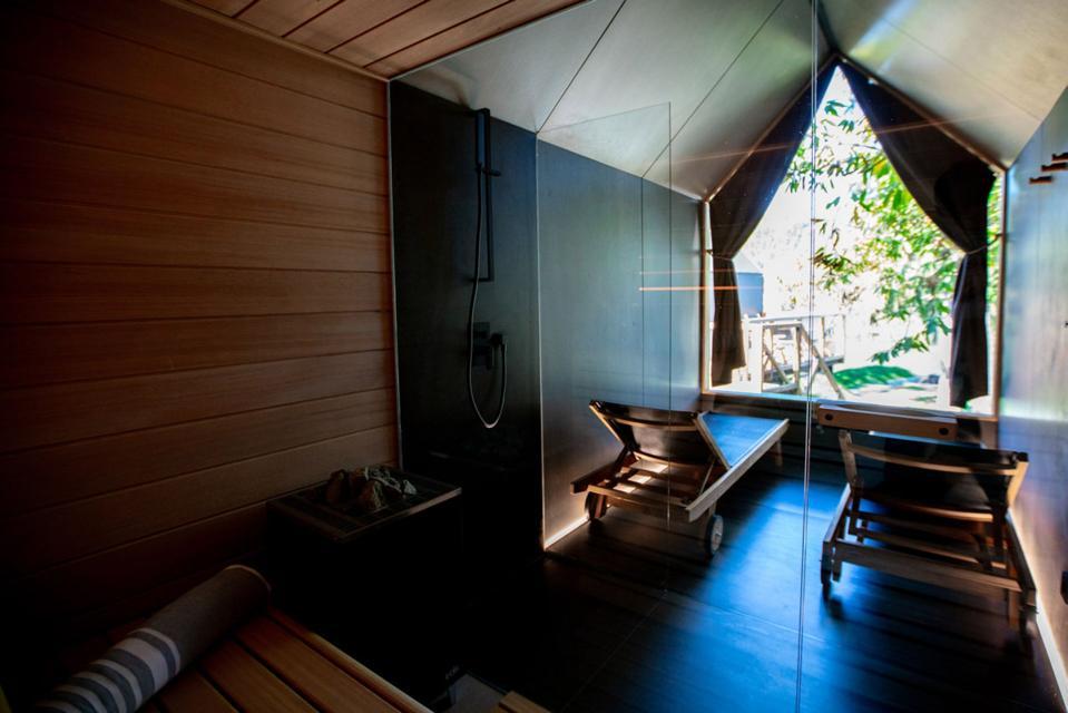 sauna chocolate bath tree wellness lodge
