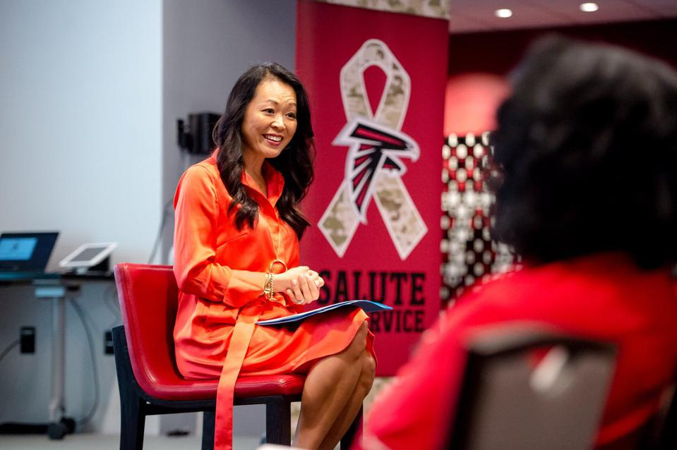 Lisa Chang is senior vice president and chief people officer for Coca-Cola