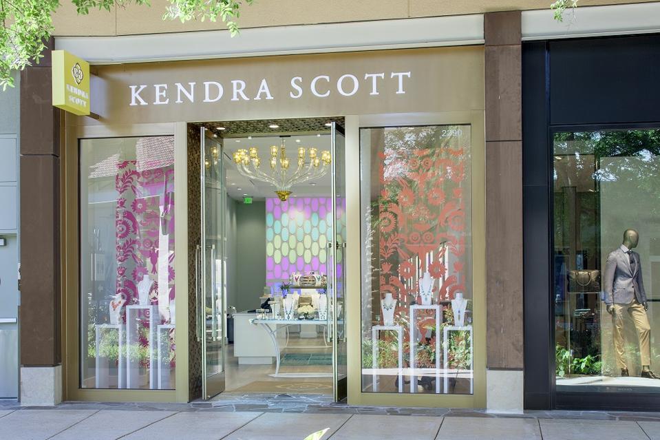 Kendra Scott jewelry store