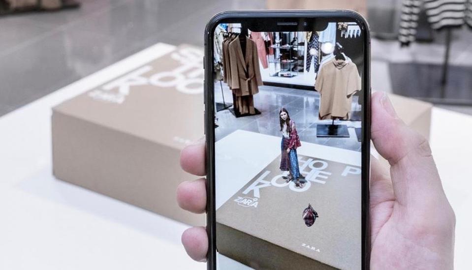 ZARA ar app fashion
