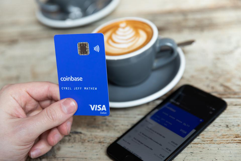 Coinbase and Visa