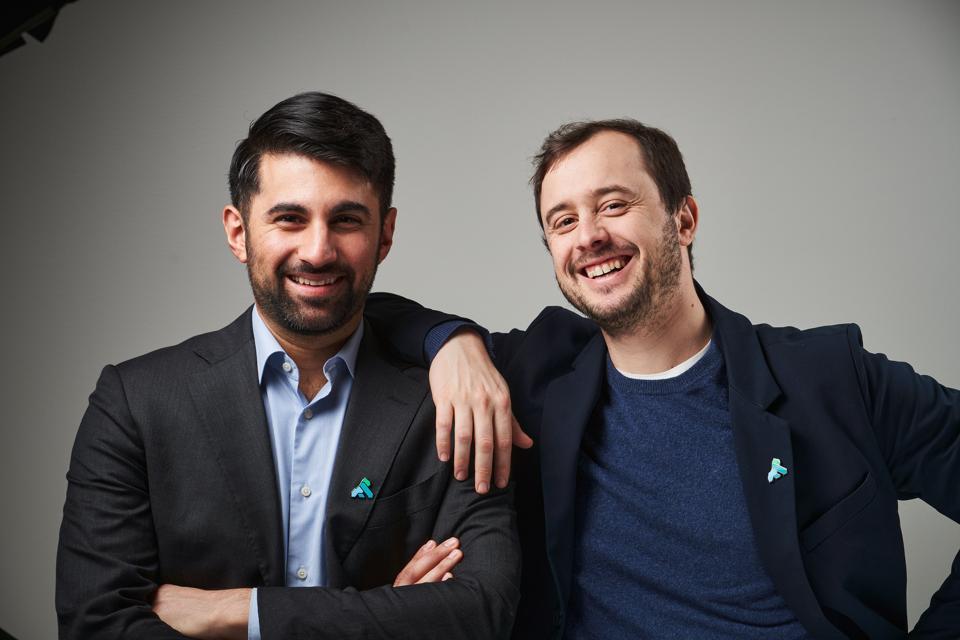 Marco Palladino and Augusto Marietti