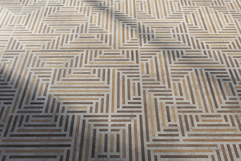 Wood-look floor