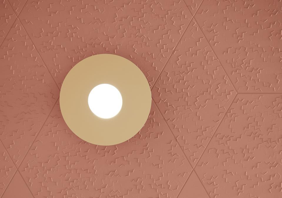 Blush pink tile