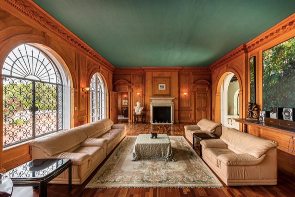 Living room at Sigrist House