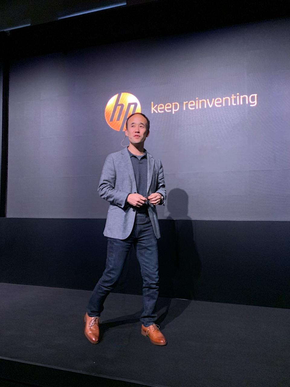 HP Personal Systems President Alex Cho