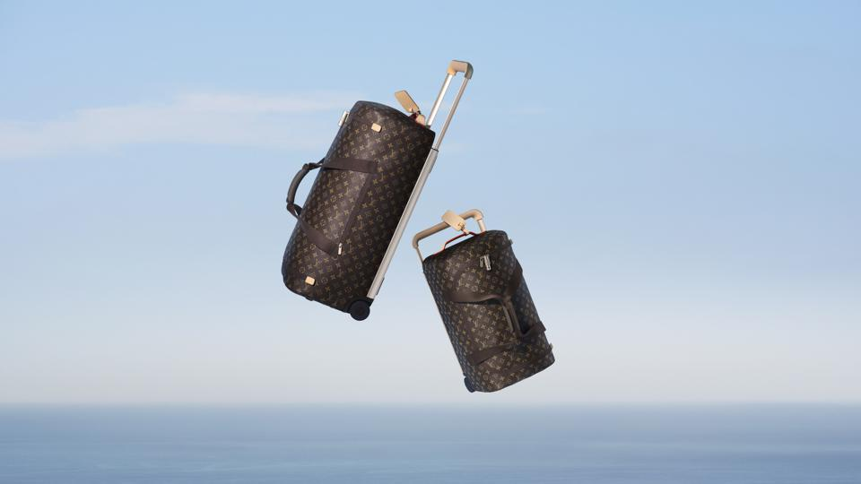 Louis Vuitton soft rolling luggage