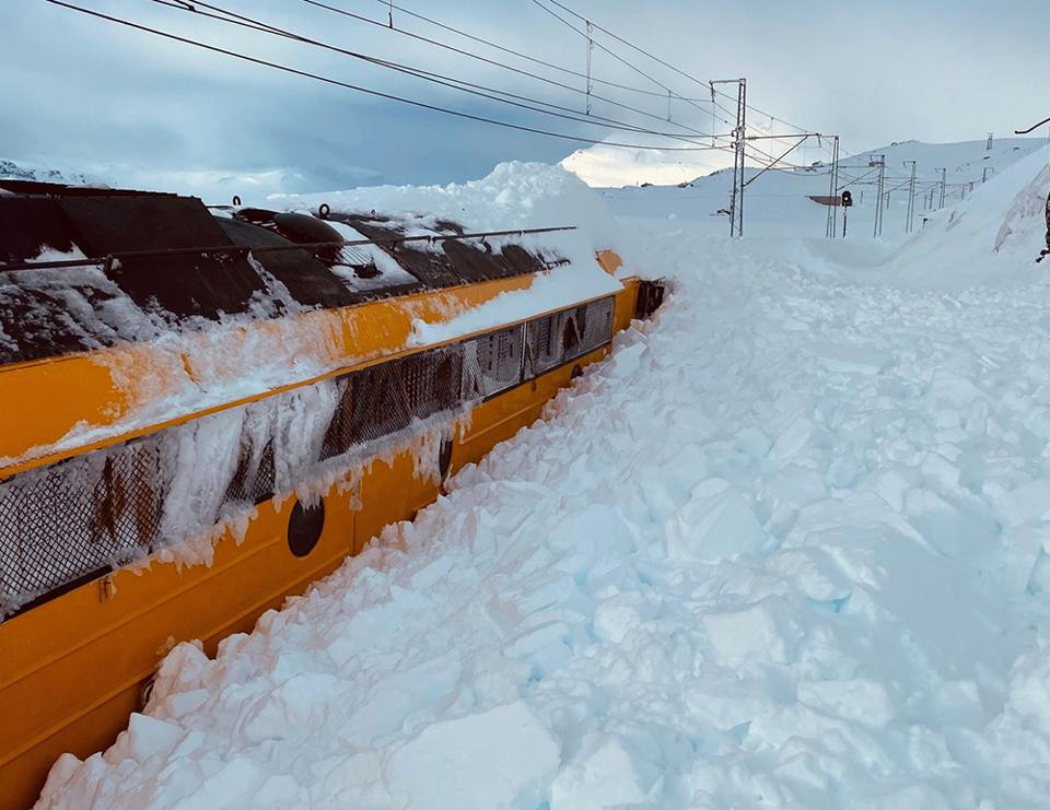 Travel Chaos In Norway As Landslide Closes Oslo To Bergen Rail Line