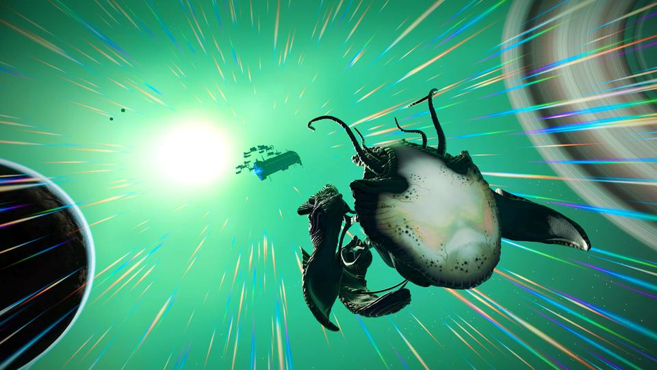 'No Man's Sky' Now Has Biological 'Living Ships' And Giant Space Monsters