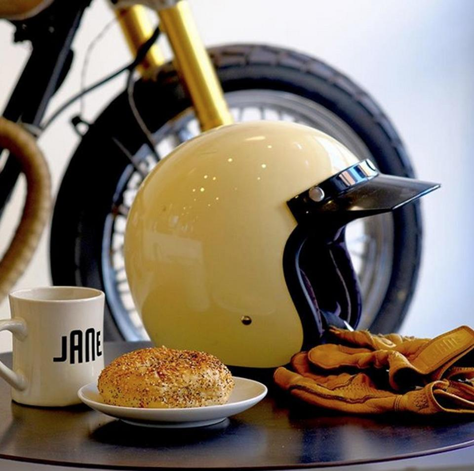 Jane motorcycles cafe