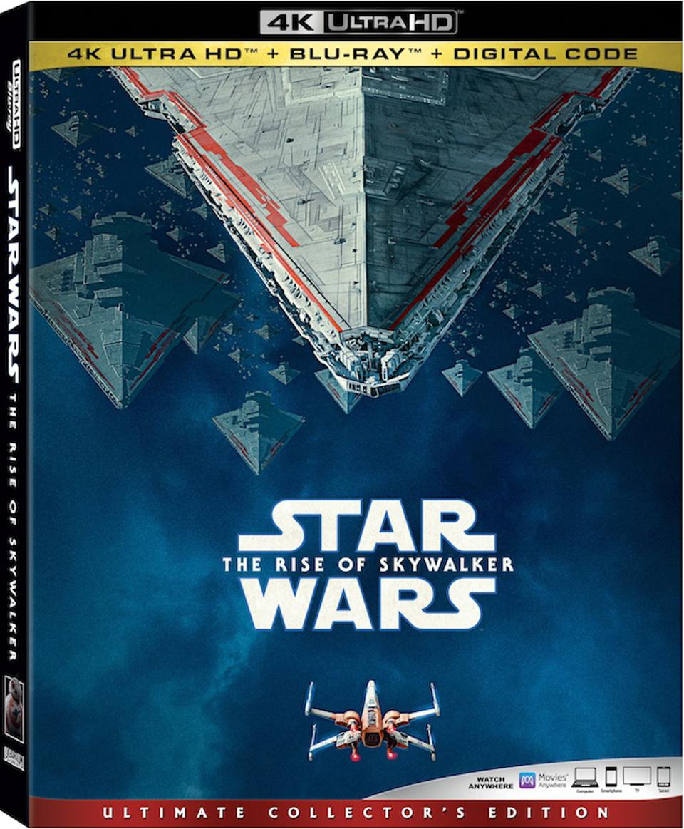 Star Wars The Rise Of Skywalker 4k Blu Ray Details Announced The Usual Disney Cautions Apply