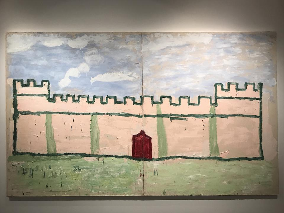 Rose Wylie's painting
