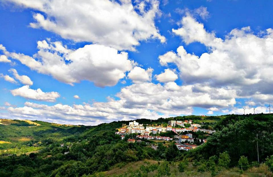 Italian picturesque town of Teroa