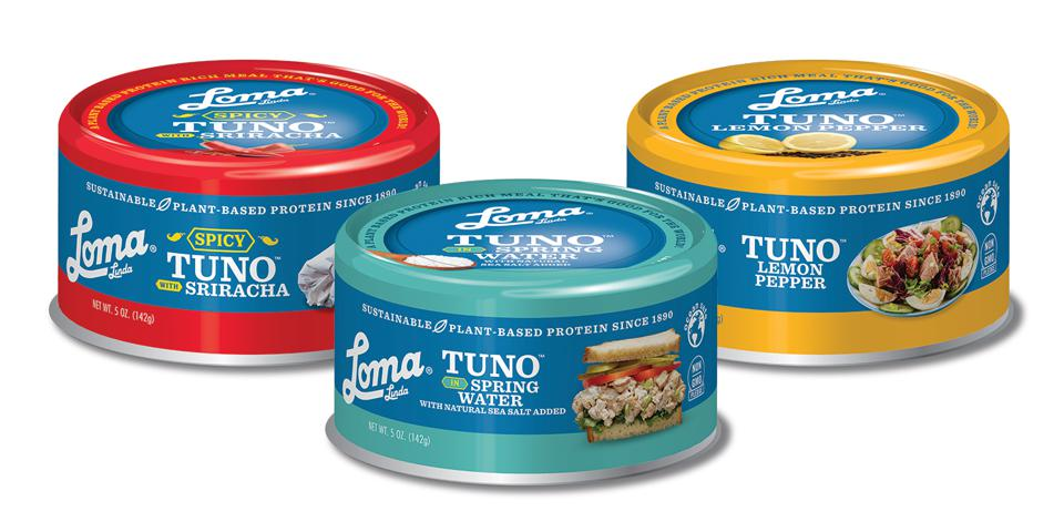 TUNO, one of several plant-based alternatives in the seafood market.