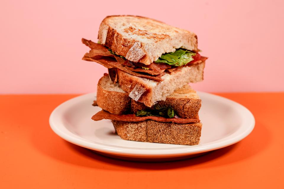 Prime Roots' bacon is made with a protein that comes from Koji.