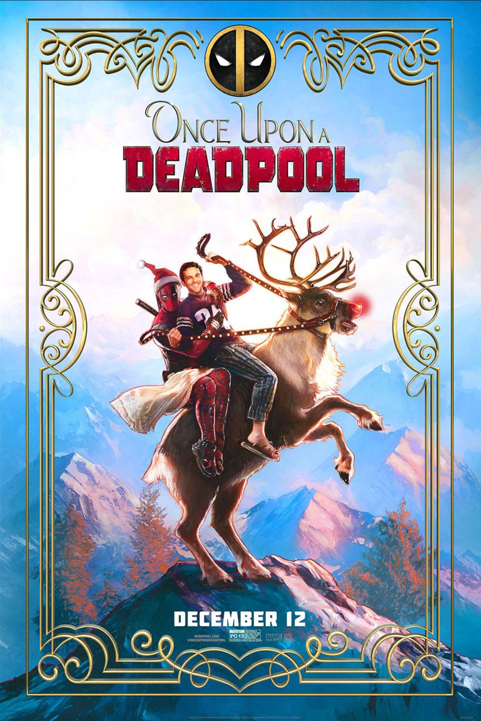 Official poster for Fox's ″Once Upon a Deadpool.″