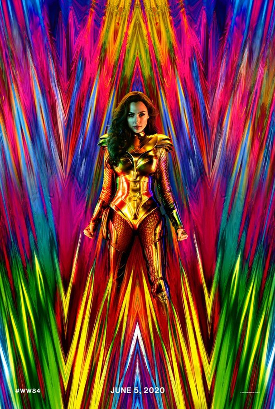 Official poster for Warner's ″Wonder Woman 1984.″